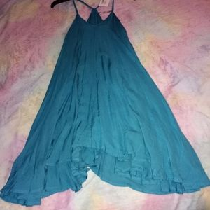 NWT Small Entro Teal Flowy Tunic Top
